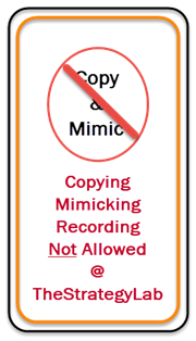 Copying, Mimicking, Recording Not Allowed